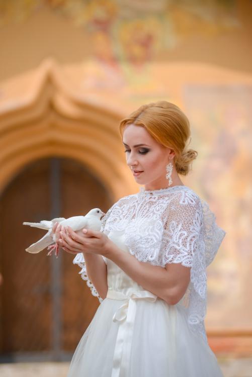 16РКИ-17 Пелерина Венчальная